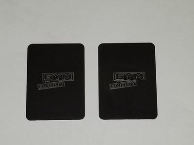 2 large replacement metal tabs