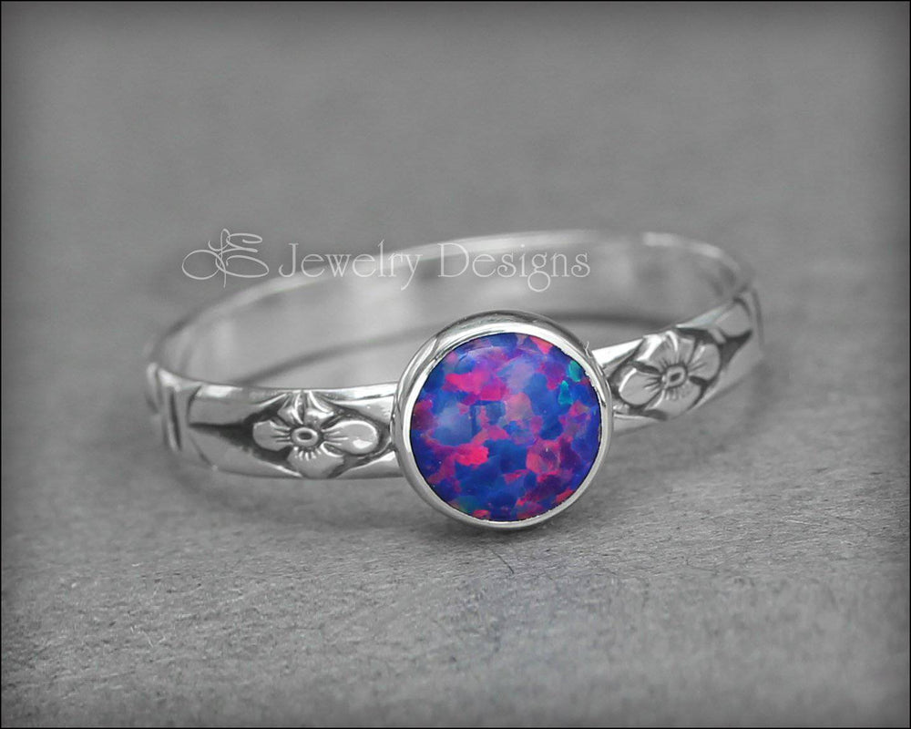 Opal Stacking Ring (6mm)