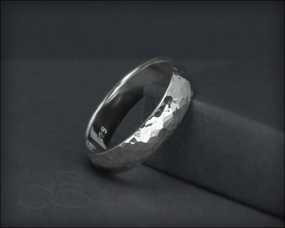 Hammered Sterling Band