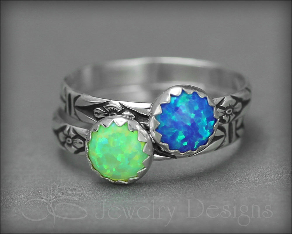 Opal Stacking Ring (6mm) - LE Jewelry Designs