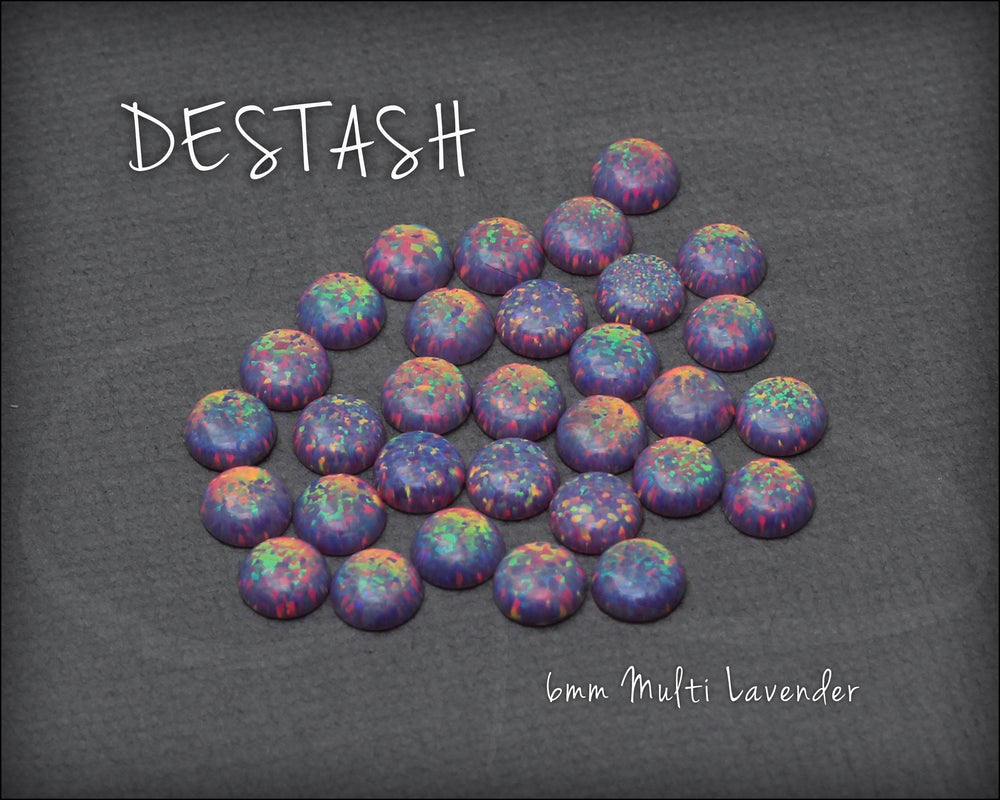 DESTASH - 6mm Opal Cabochon