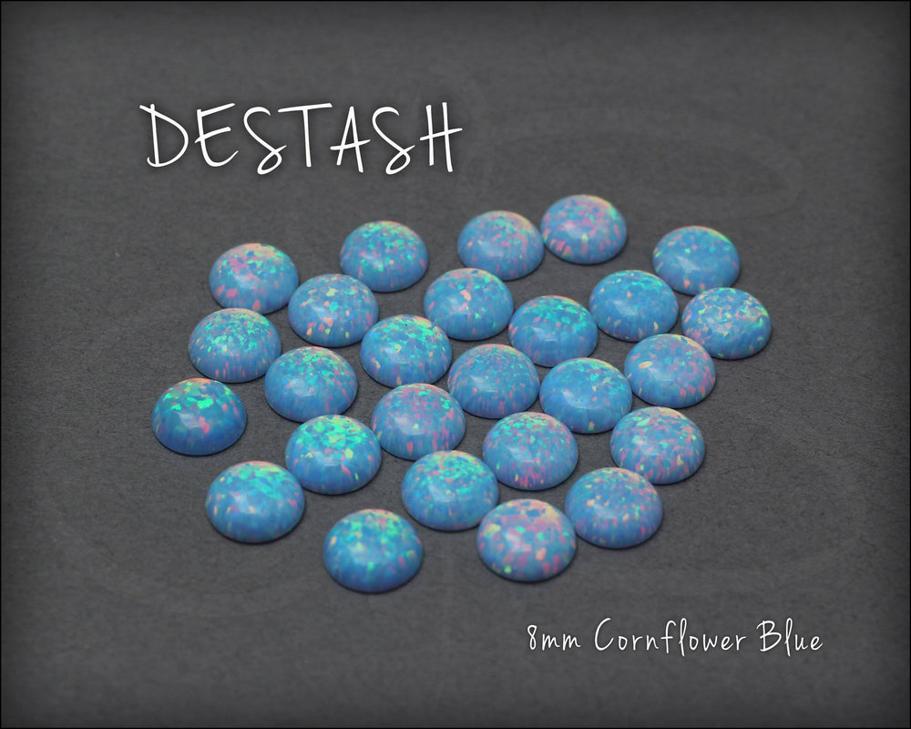 DESTASH - 8mm Opal Cabochon