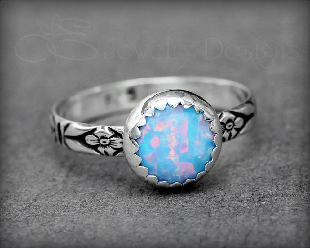 Opal Stacking Ring (8mm)