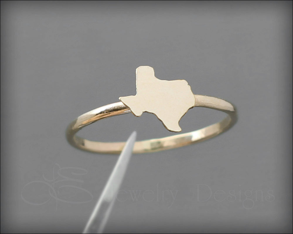 Texas Ring - (sterling or 14k gold) - LE Jewelry Designs