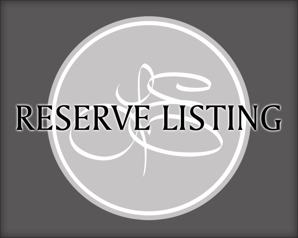 Reserve Listing - for Ashley