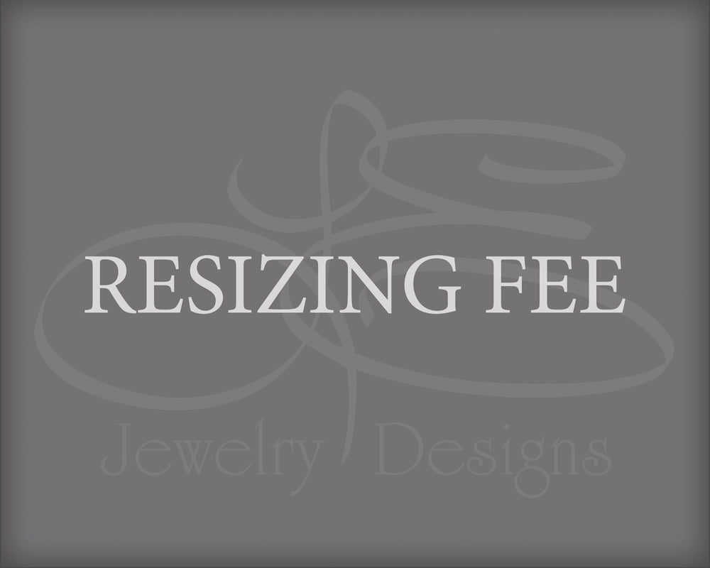 Resizing Fee - for Alicia