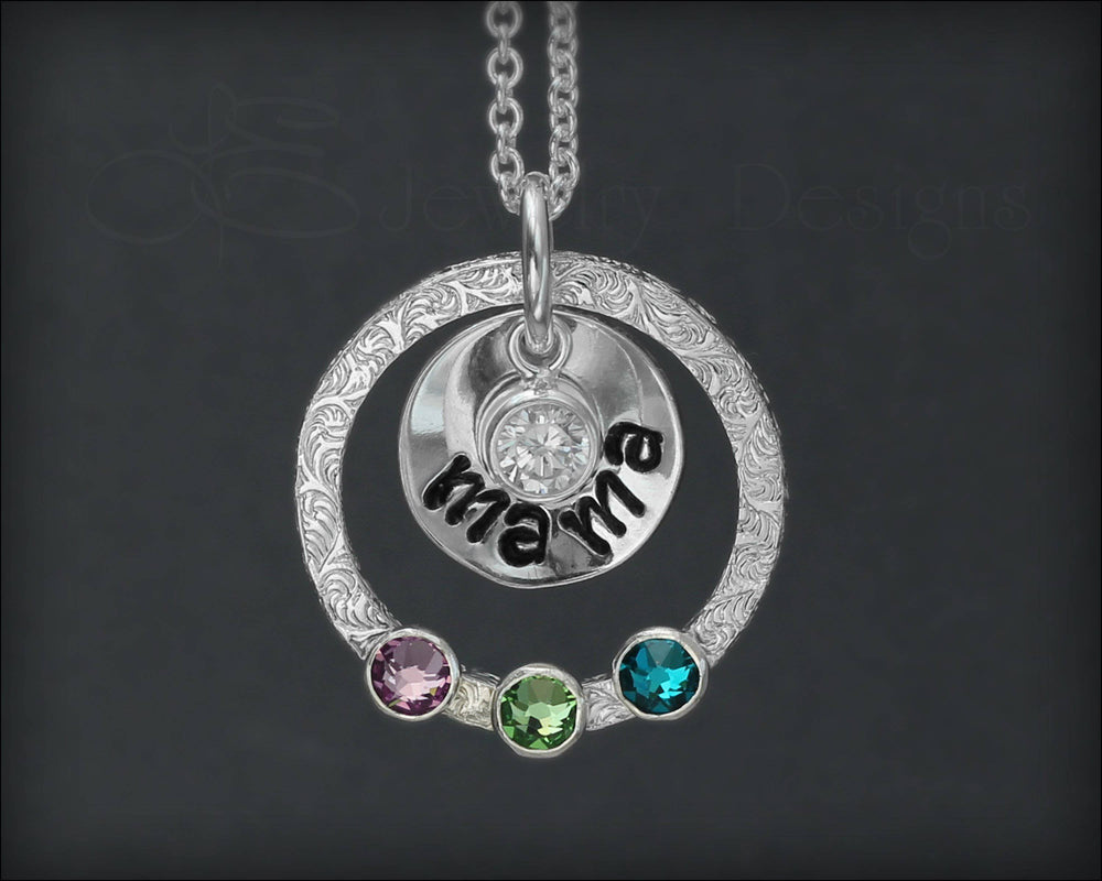 Mother's Birthstone Necklace