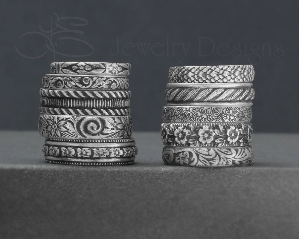 Sterling Pattern Bands