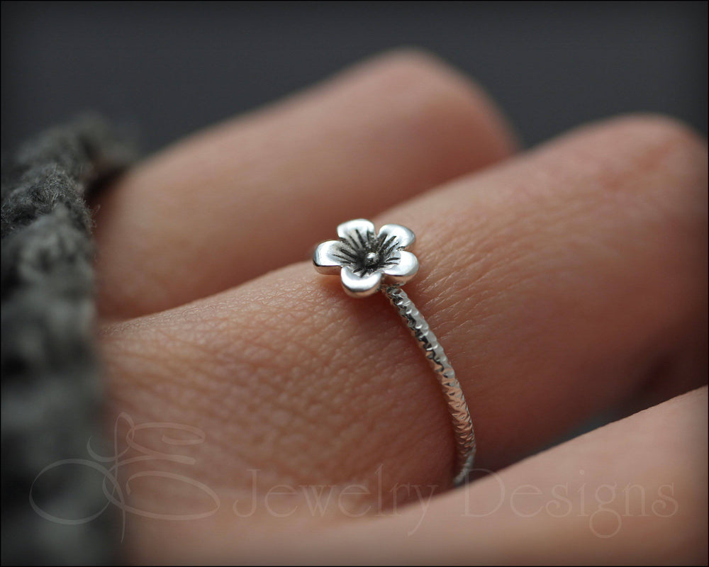 Dainty Cherry Blossom Ring - LE Jewelry Designs