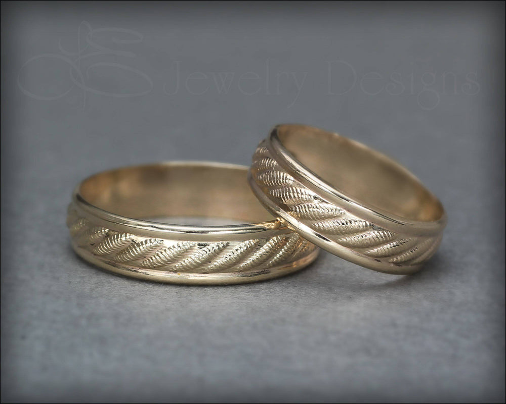 Twisted Rope Pattern Band