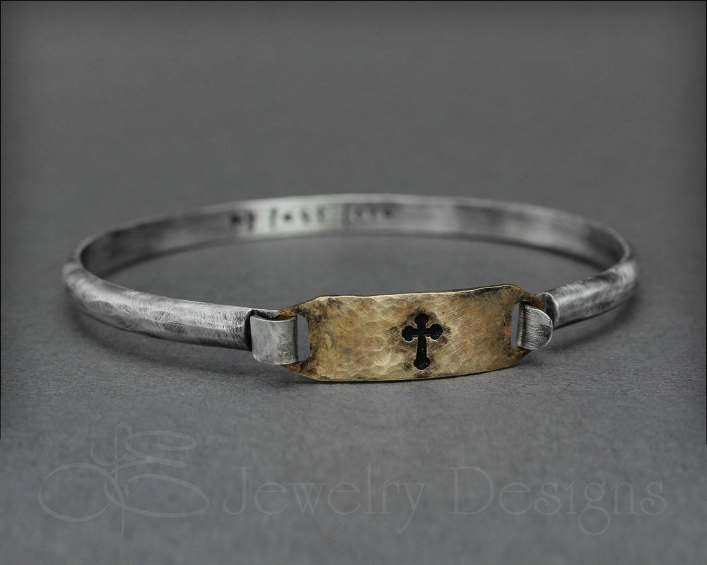 Hidden Message Latch Bracelet
