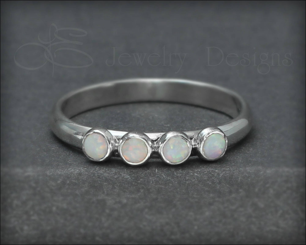 Multi Opal Ring - (choose # of opals) - LE Jewelry Designs