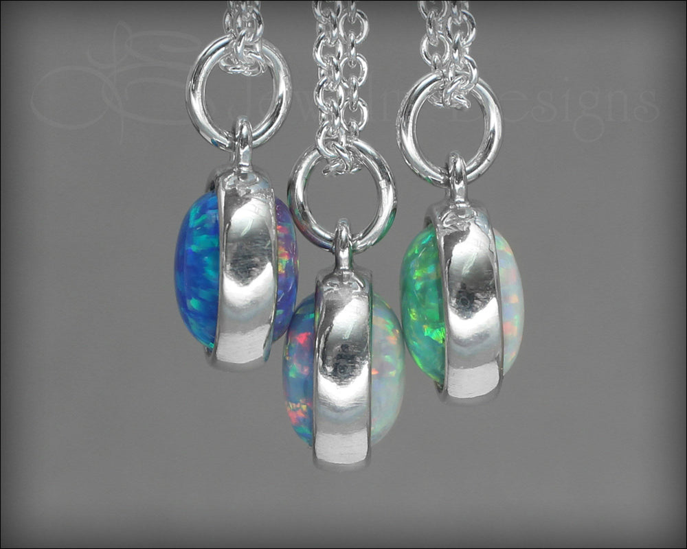 Reversible Opal Necklace (choose 2 colors)