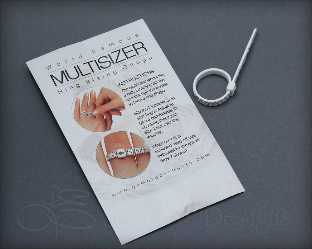 Reusable Ring Sizer - (find your size)