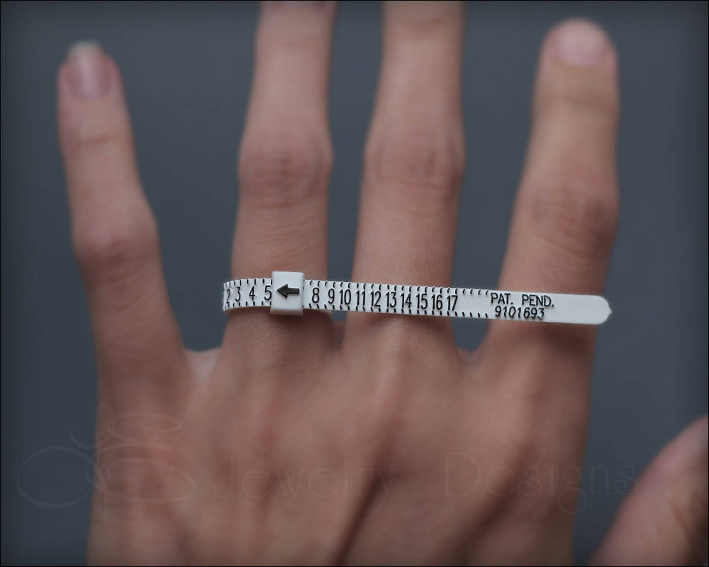 Reusable Ring Sizer - (find your size) - LE Jewelry Designs