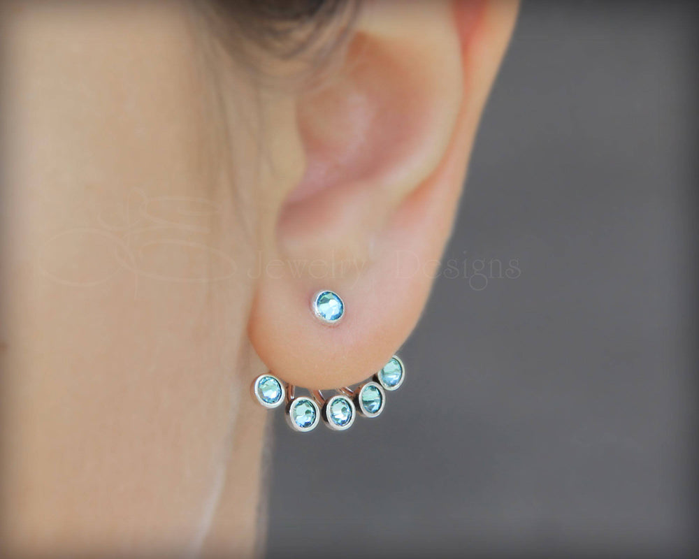 Birthstone Earring Jackets