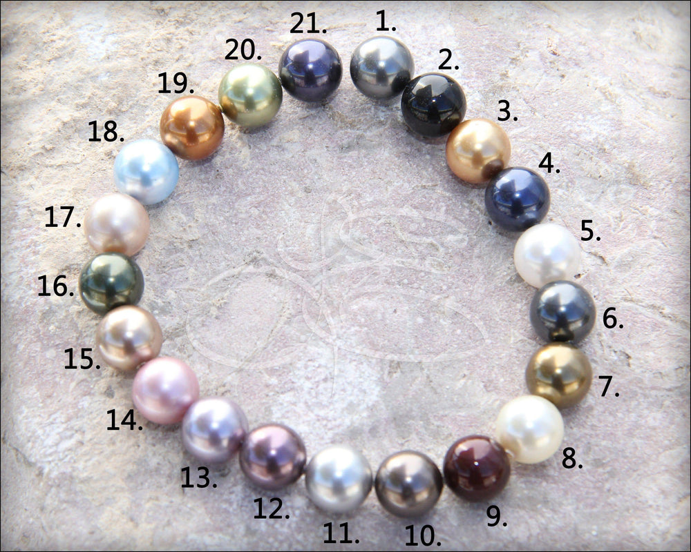 Add On Pearl Drop Charm - (choose your color)