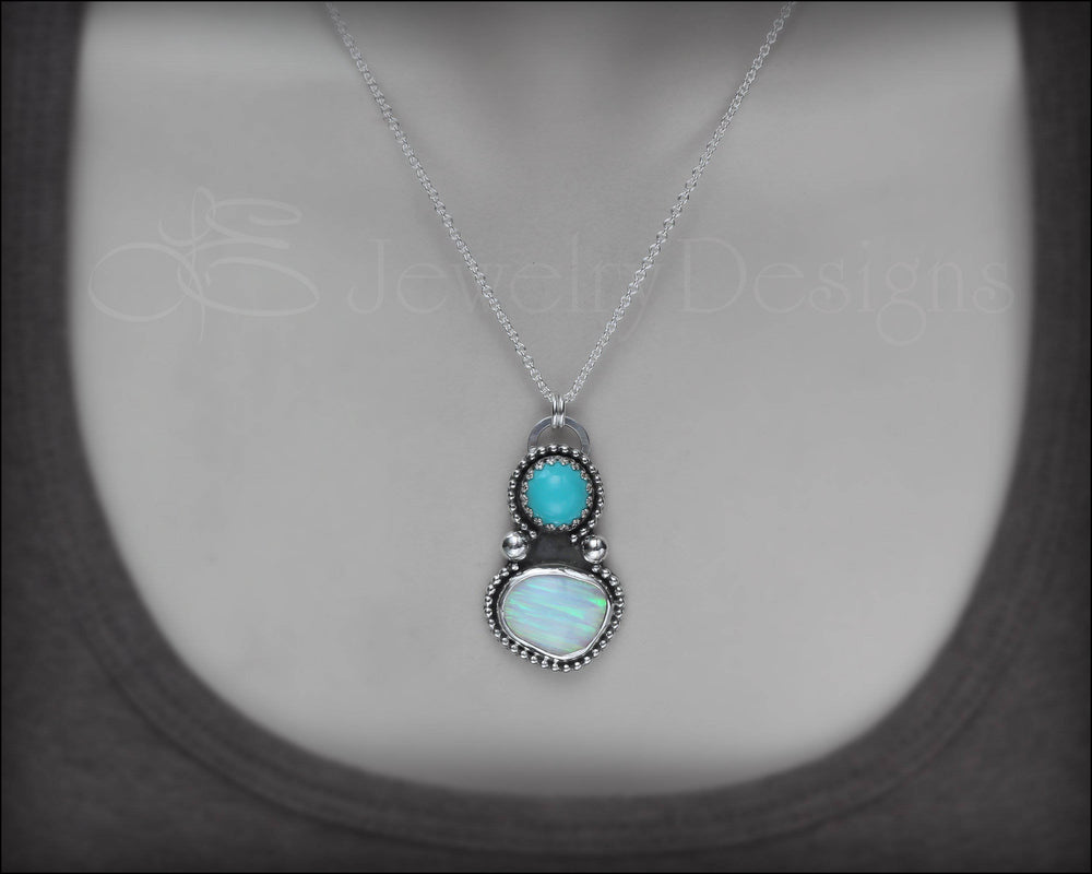 Opal & Turquoise Necklace