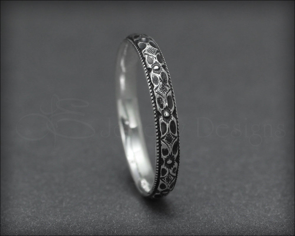 Vintage Style Floral Ring - LE Jewelry Designs