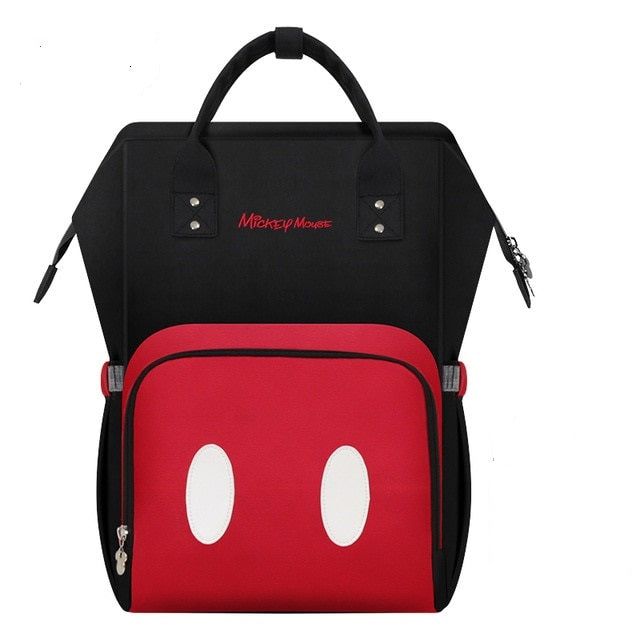 The Mamma Mickey Diaper Bag - Red/White/Black