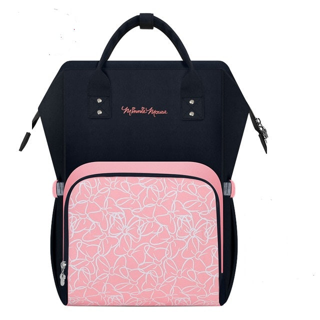 The Mamma Minnie Diaper Bag - Pink