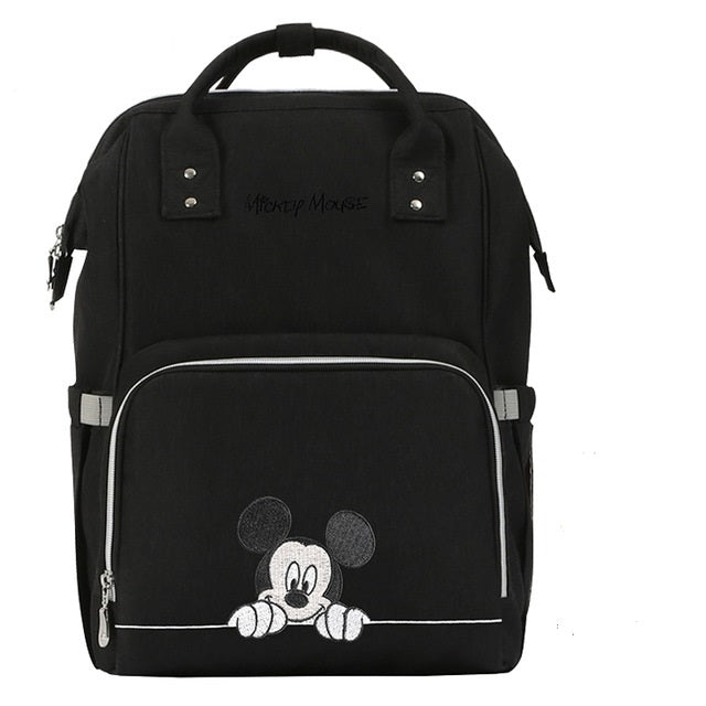The Mamma Mickey Diaper Bag - Black