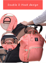 The Mamma Diaper Bag - Pink Circles