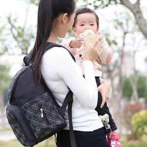 The Mamma Diaper Backpack - Black