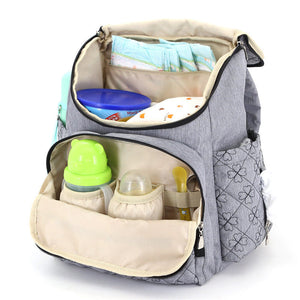 The Mamma Diaper Backpack - Teal