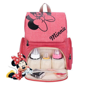 The Mamma Mickey Diaper Backpack - Grey