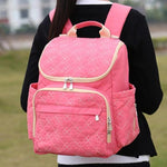 The Mamma Diaper Backpack - Red