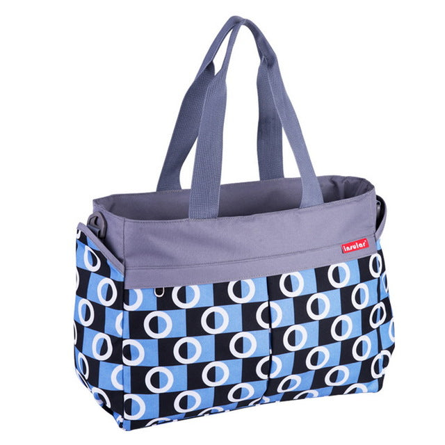 The Mamma Stroller Tote - Carolina Blue