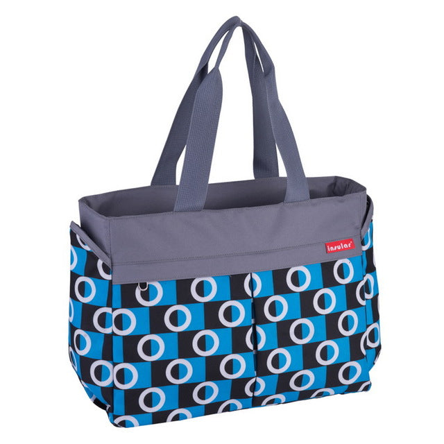 The Mamma Stroller Tote - Royal Blue