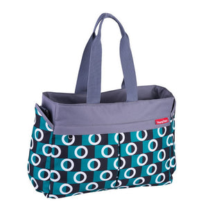 The Mamma Stroller Tote - Peacock Green
