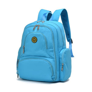 On-the-Go Mamma Diaper Backpack - Teal