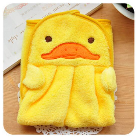 Soft Plush Animal Hand Towel