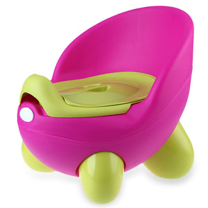Portable Potty Training Seat for Children - Pink/Green