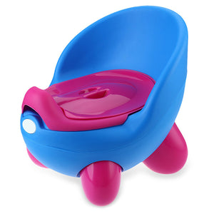 Portable Potty Training Seat for Children - Blue/Pink