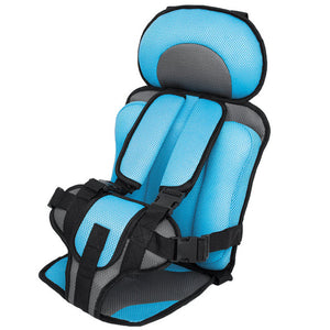 Children's Car Seat - Light Blue
