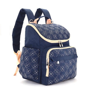 The Mamma Diaper Backpack - Royal Blue
