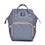 The Mamma Diaper Bag - Grey