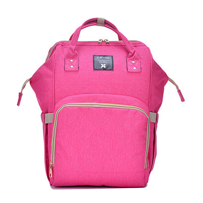 The Mamma Diaper Bag - Pink