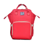 The Mamma Diaper Bag - Red