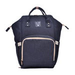 The Mamma Diaper Bag - Black
