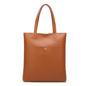 The Mamma Soft Leather Bucket Handbag - Brown
