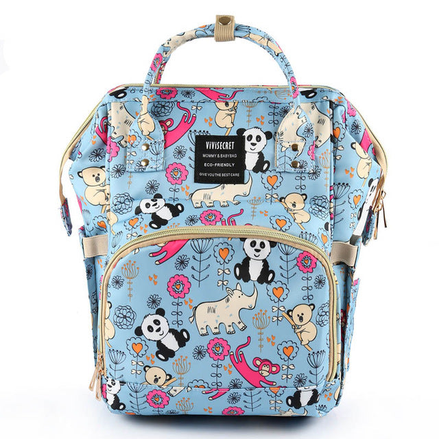 The Mamma Diaper Bag - Animals