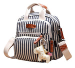 The Mamma Ornament Diaper Bag - Stripes