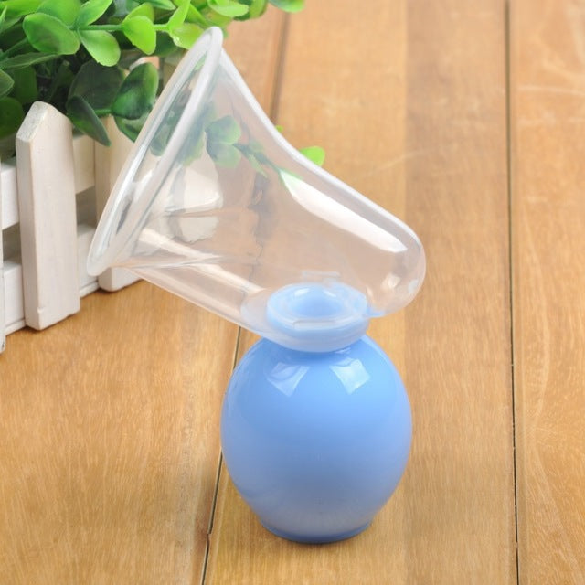 The Horn Mouth Breast Pump - Blue
