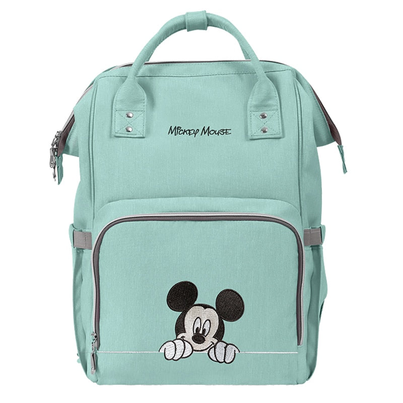 The Mamma Mickey Diaper Bag - Green