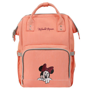 The Mamma Minnie Diaper Bag- Pink